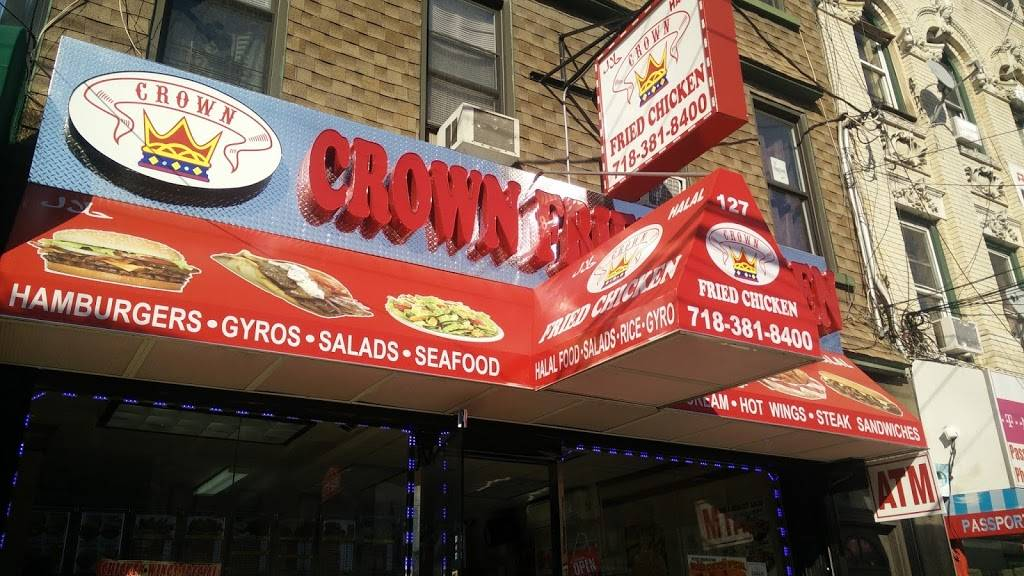 Crown Fried Chicken | restaurant | 127-131 Wyckoff Ave, Brooklyn, NY 11237, USA | 7183818400 OR +1 718-381-8400