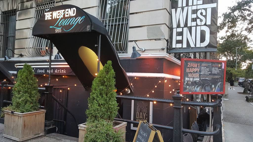 The West End Lounge | night club | 955 West End Ave, New York, NY 10025, USA | 2125314759 OR +1 212-531-4759