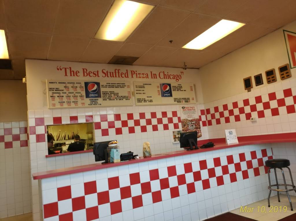 Nancys Pizzeria   meal delivery   7929 171st St, Tinley Park, IL 60477, USA   7086146100 OR +1 708-614-6100