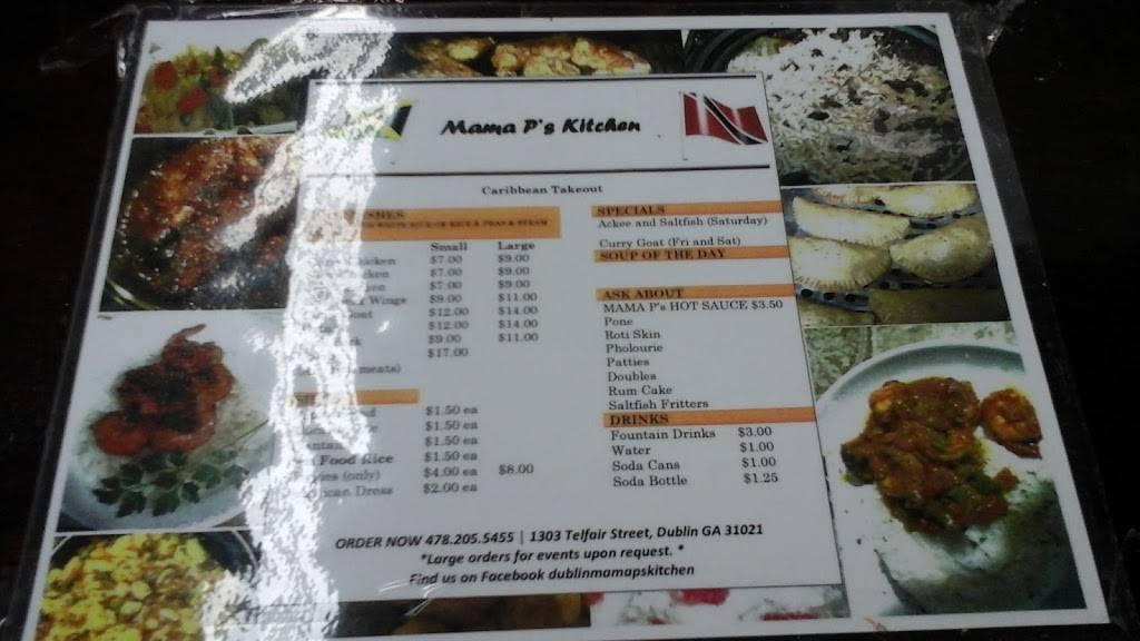 Mama Ps Kitchen | restaurant | 1303 Telfair St, Dublin, GA 31021, USA | 4782055455 OR +1 478-205-5455