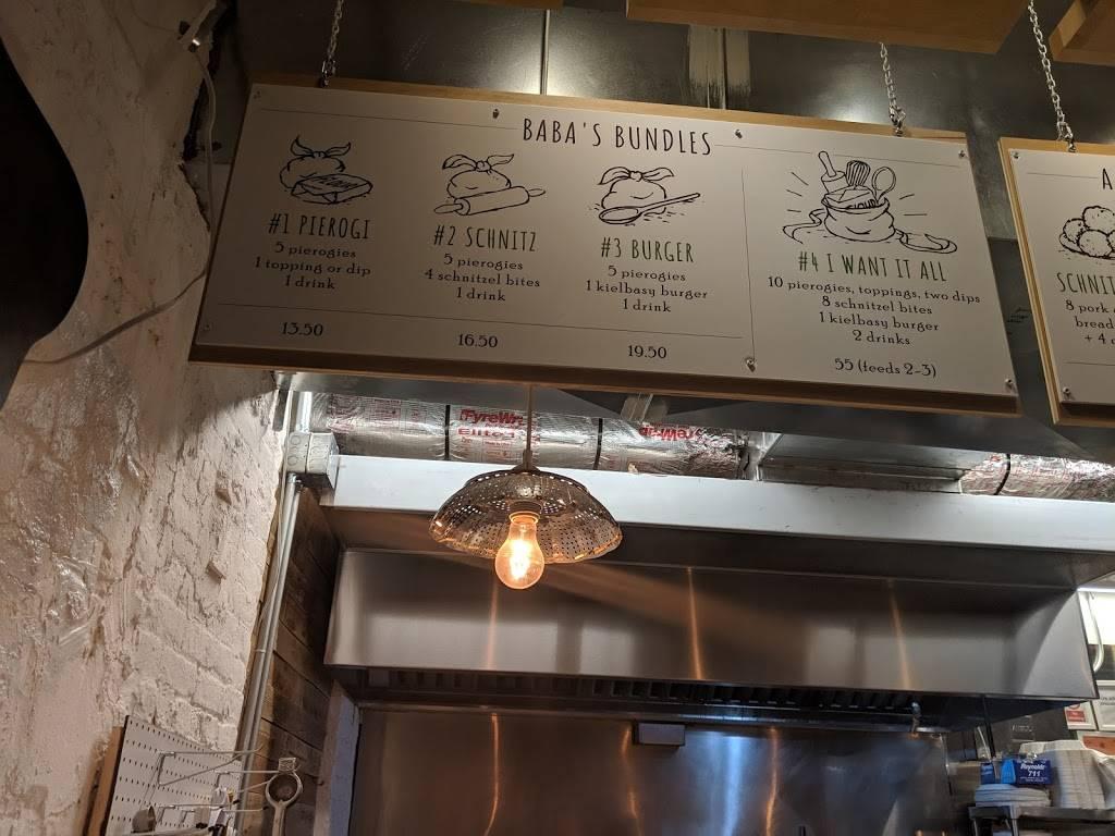 Babas Pierogies | restaurant | 103 N 3rd St, Brooklyn, NY 11249, USA