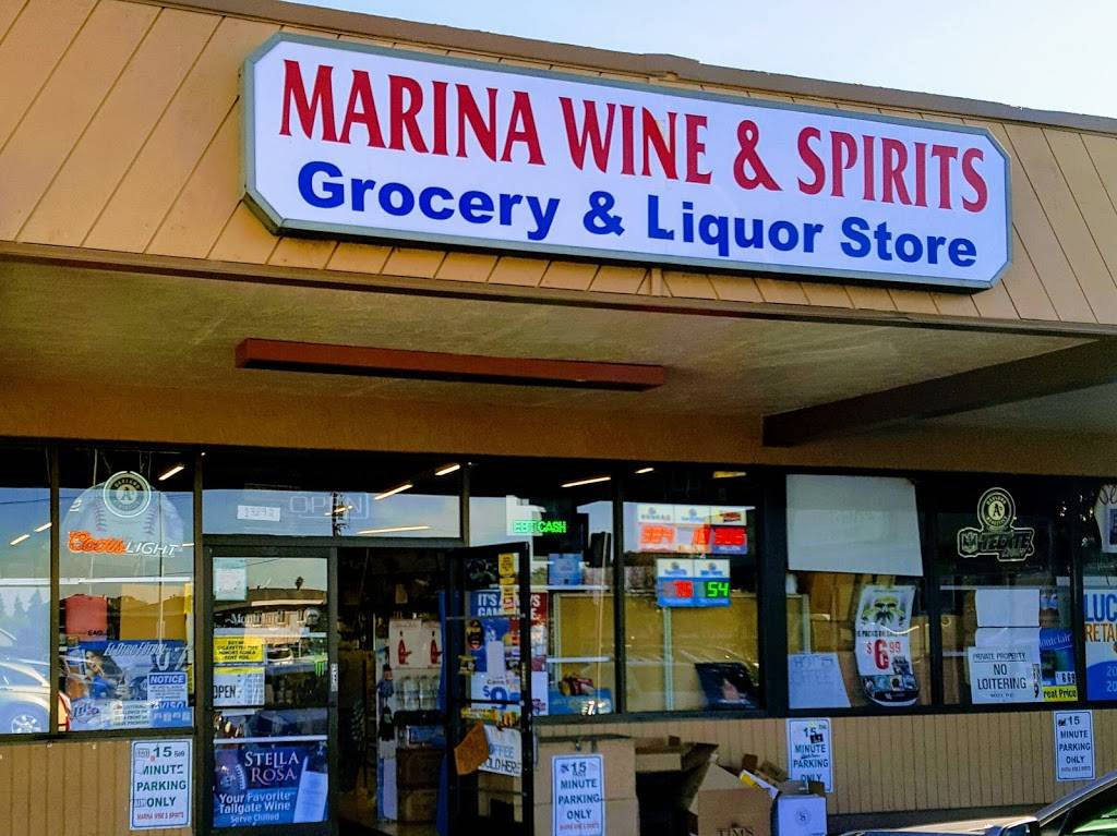 Marina Wine & Spirits | meal takeaway | 13892 Doolittle Dr, San Leandro, CA 94577, USA | 5104832596 OR +1 510-483-2596