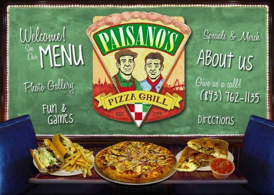 Paisanos Pizza Grill | meal delivery | 1246 Camp Rd, Charleston, SC 29412, USA | 8437621135 OR +1 843-762-1135
