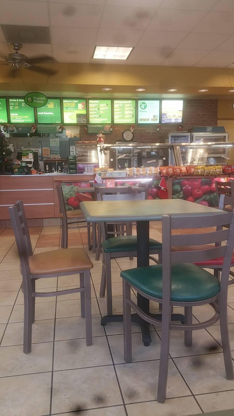 Subway   restaurant   1580 IL-121, Mt Zion, IL 62549, USA   2178640965 OR +1 217-864-0965