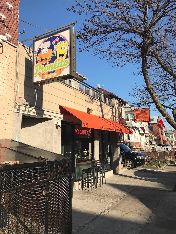 Prontito   restaurant   40-25 Forley St, Elmhurst, NY 11373, USA   3475564950 OR +1 347-556-4950