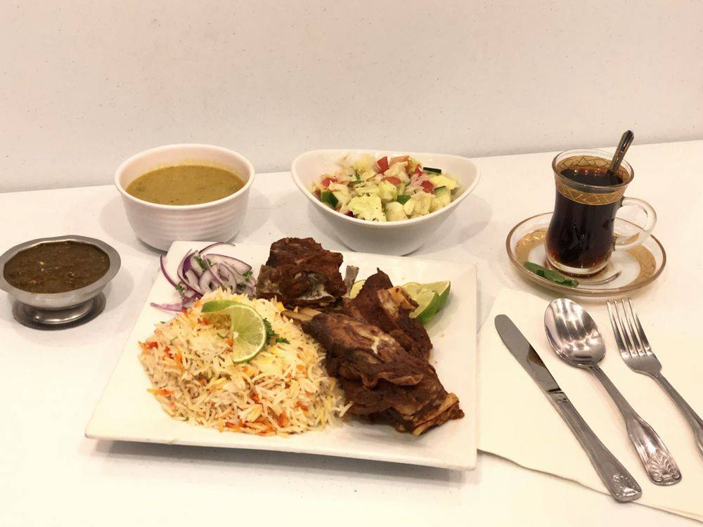 مطعم صنعاء Sanaa Restaurant | restaurant | 4929 W Market St suite 2108, Greensboro, NC 27407, USA | 3368970376 OR +1 336-897-0376