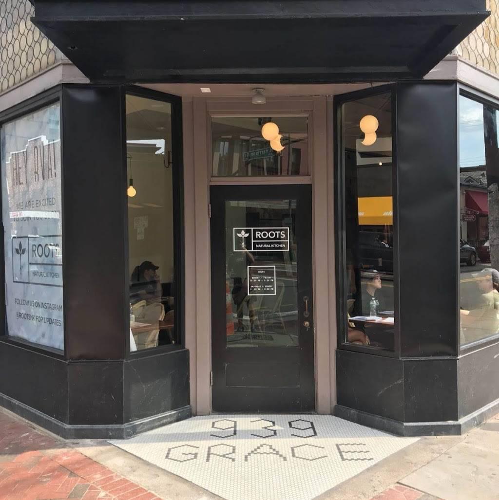 Roots Natural Kitchen Restaurant 939 W Grace St Richmond Va 23220 Usa