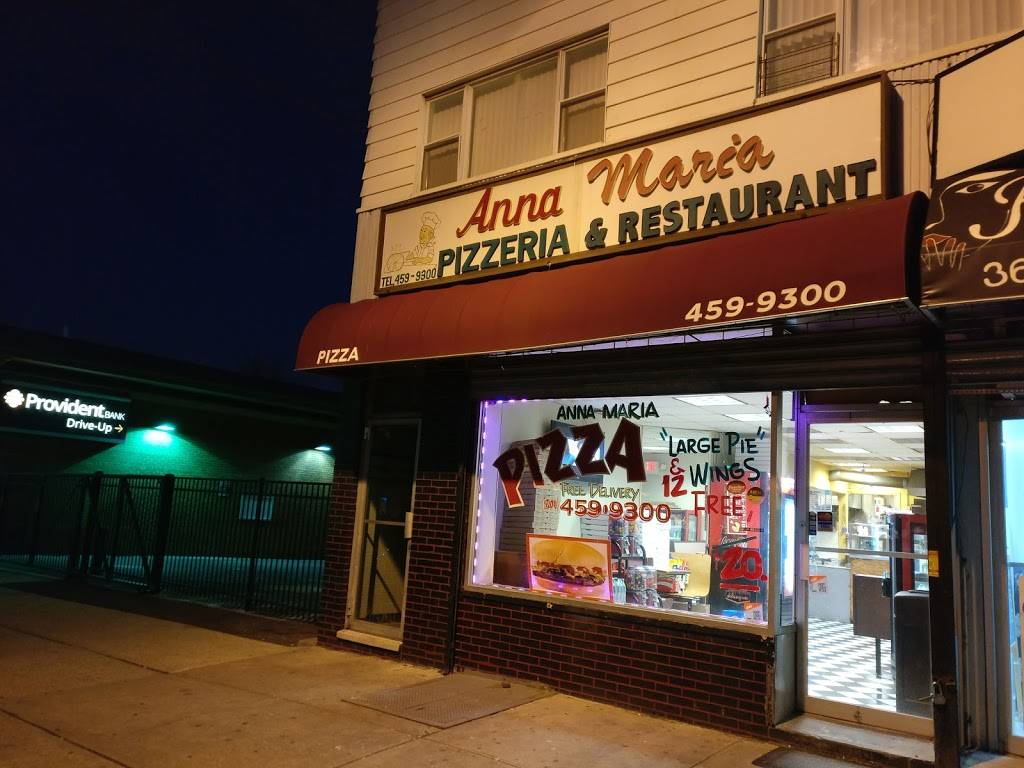 Anna Maria Pizza   meal delivery   3668 John F. Kennedy Blvd, Jersey City, NJ 07307, USA   2014599300 OR +1 201-459-9300