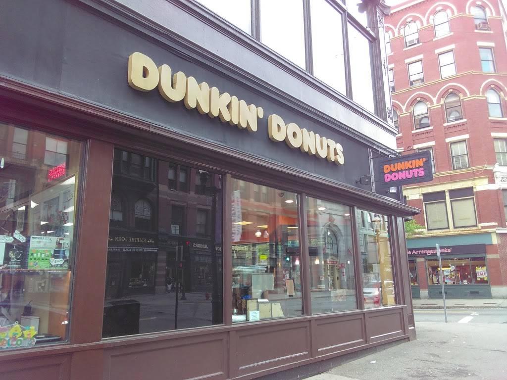 Dunkin | bakery | 24 Merrimack St, Lowell, MA 01852, USA | 9789379776 OR +1 978-937-9776