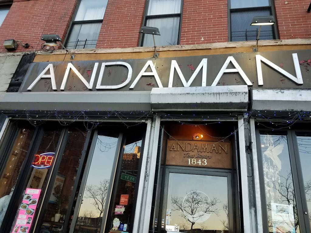 Andaman | restaurant | 1843 1st Avenue #1, New York, NY 10128, USA | 2127225671 OR +1 212-722-5671