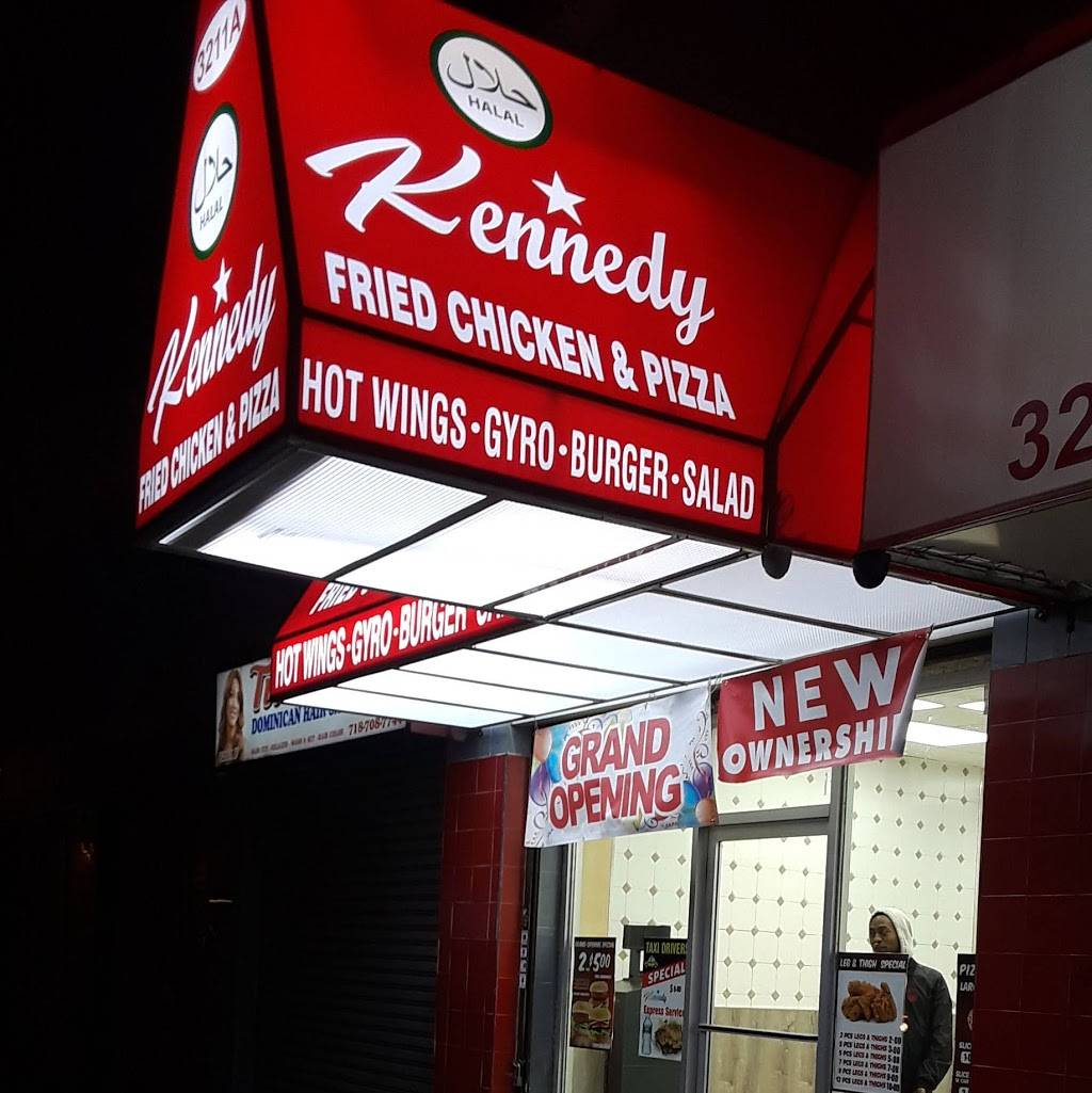 Kennedy Fried Chicken and Pizza   restaurant   3211 White Plains Rd, Bronx, NY 10462, USA   3478998449 OR +1 347-899-8449
