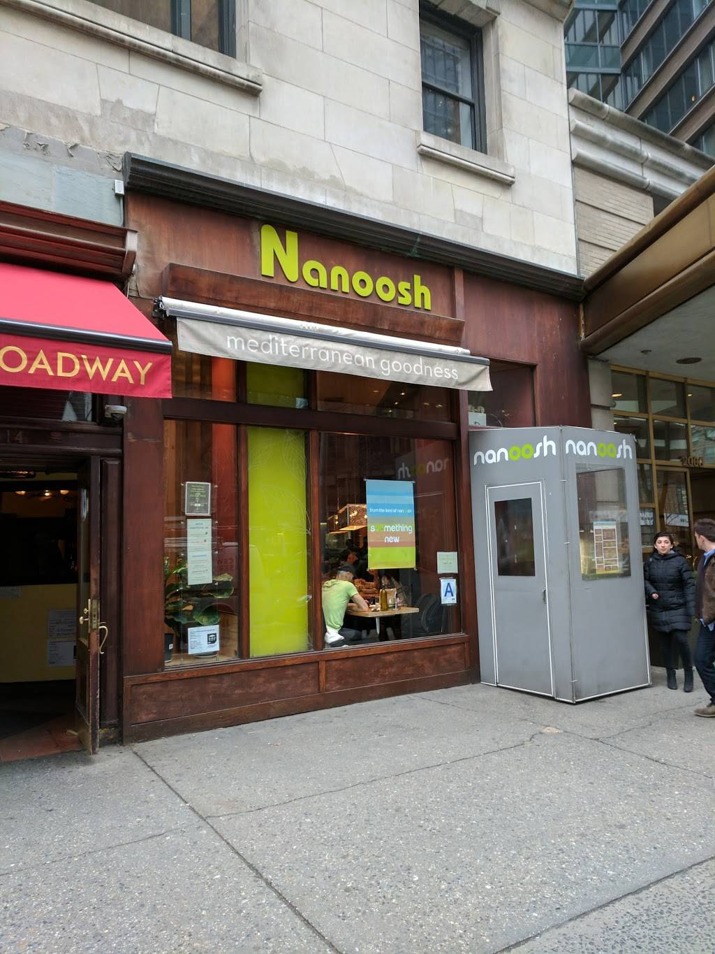 Nanoosh | meal takeaway | 2012 Broadway, New York, NY 10023, USA | 2123627922 OR +1 212-362-7922