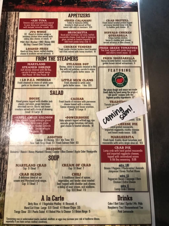 J'Ville Grille - Restaurant   3701 Federal Hill Rd