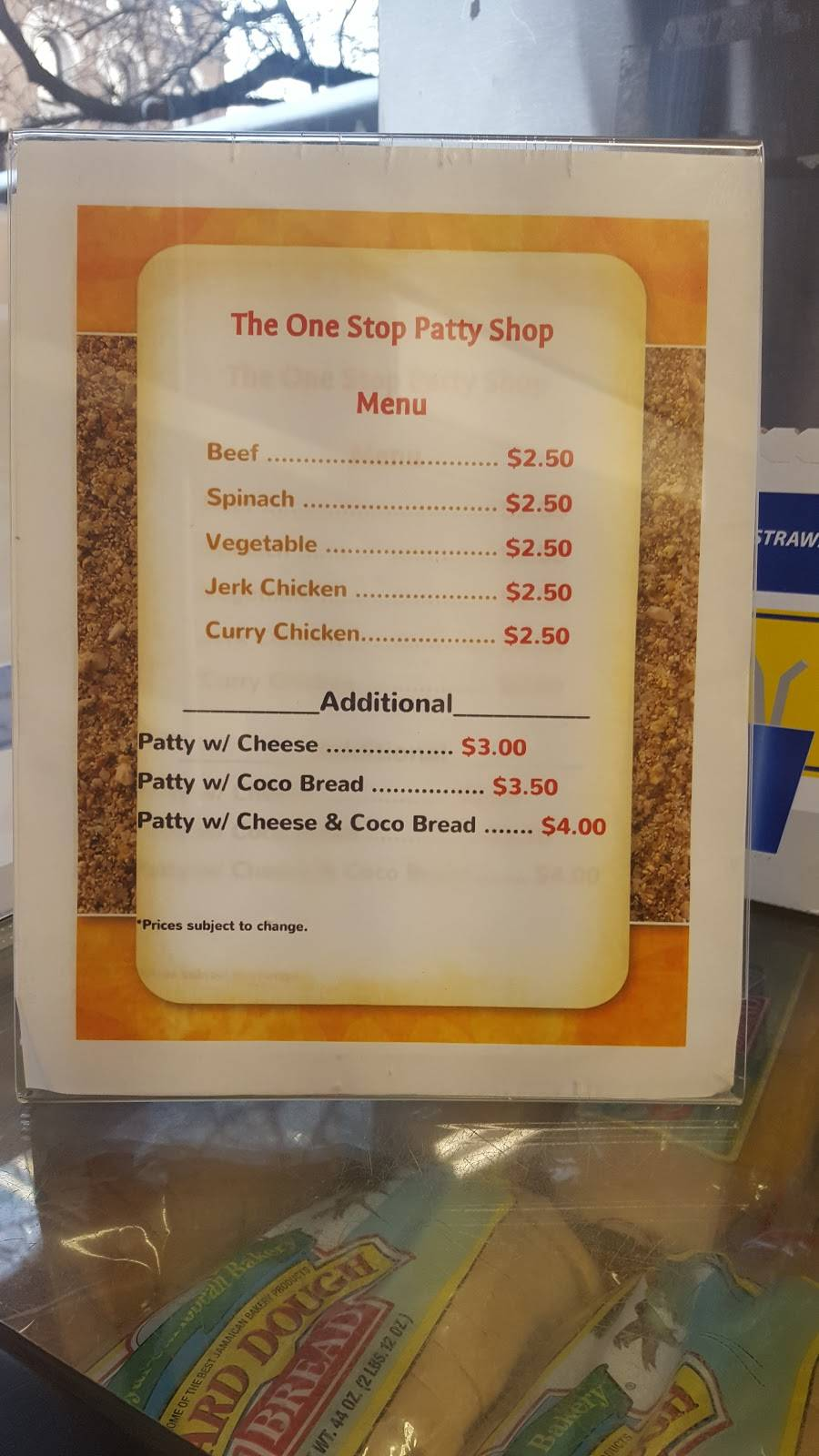 One Stop Patty Shop   restaurant   1708 Amsterdam Ave, New York, NY 10031, USA   2124917466 OR +1 212-491-7466