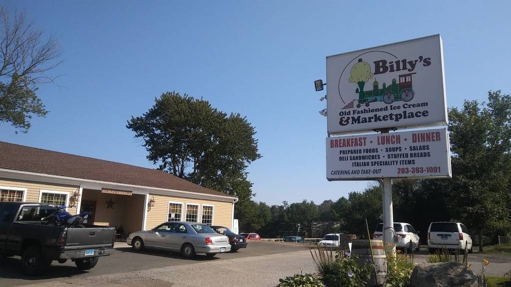 Billys Ice Cream and Marketplace | restaurant | 742 Amity Rd, Bethany, CT 06524, USA | 2036919185 OR +1 203-691-9185