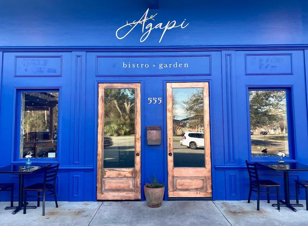 Agapi Bistro + Garden | restaurant | 555 Scenic Hwy, Pensacola, FL 32503, USA | 8508135683 OR +1 850-813-5683