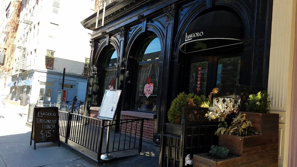 Langolo | restaurant | 190 A Duane St, New York, NY 10013, USA | 2126253333 OR +1 212-625-3333
