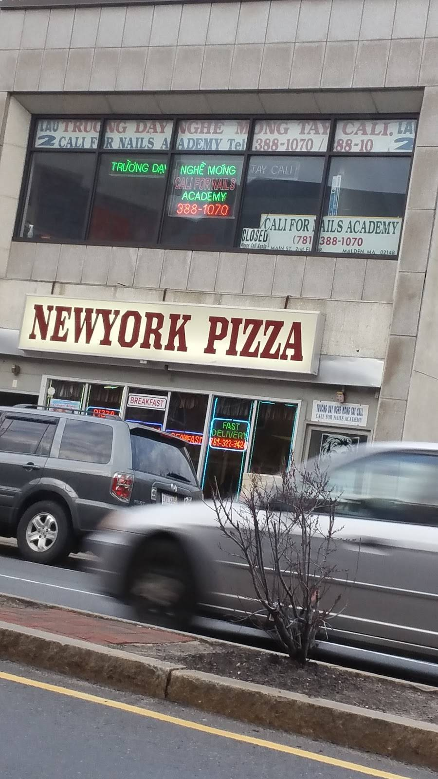New York Pizza Meal Delivery 421 Main St Malden Ma 02148 Usa