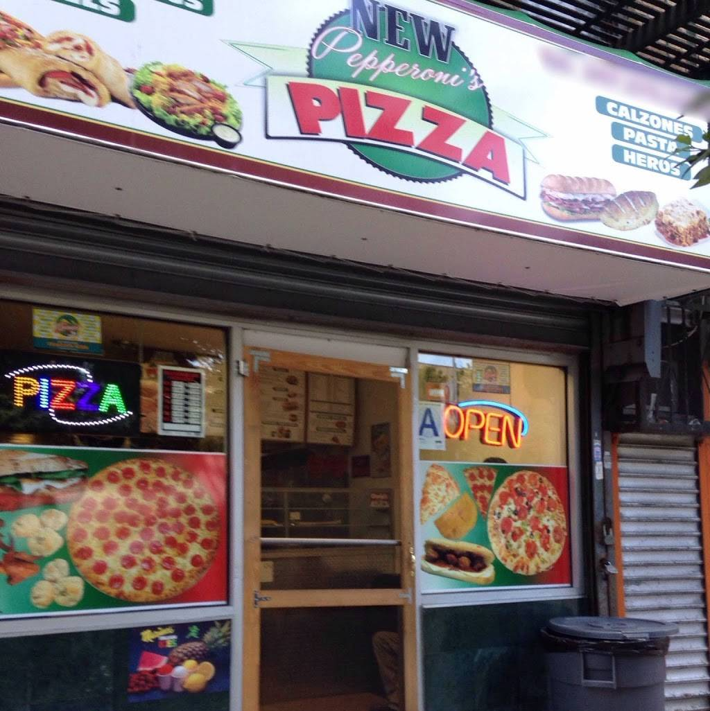 New Pepperonis Pizza | restaurant | 1308 Lafayette Ave, Bronx, NY 10474, USA | 3472705886 OR +1 347-270-5886