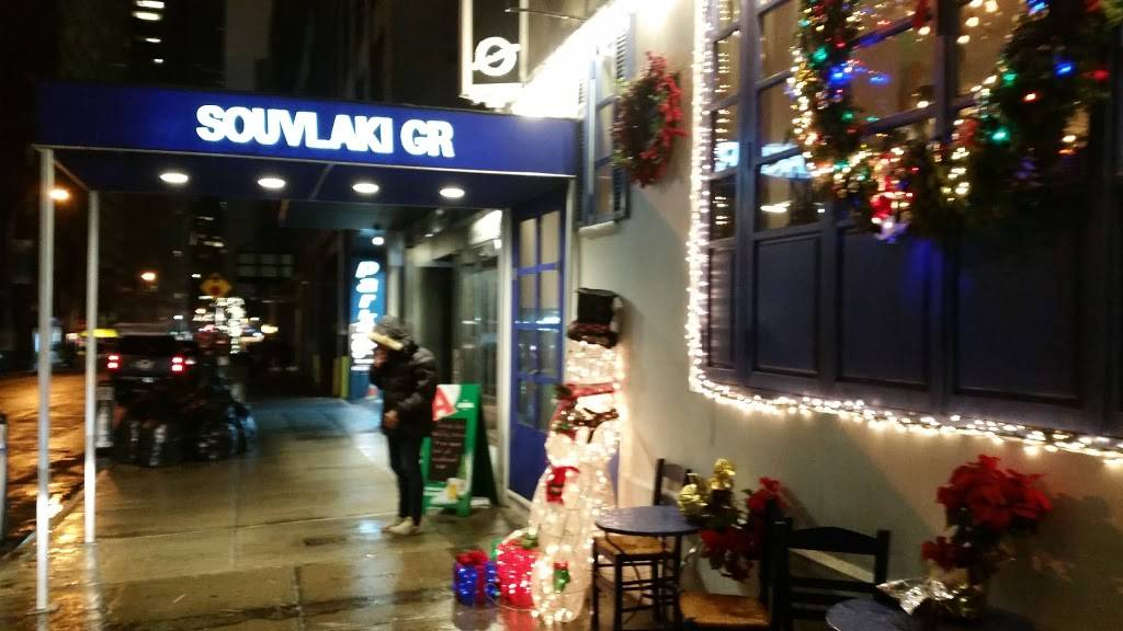 Souvlaki GR Midtown | restaurant | 162 W 56th St, New York, NY 10019, USA | 2129747482 OR +1 212-974-7482