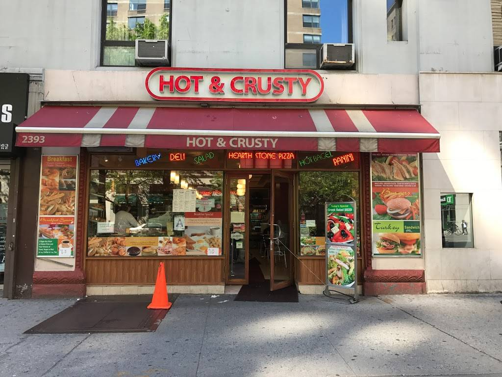 Hot & Crusty | meal delivery | 2393 Broadway, New York, NY 10024, USA | 2128777714 OR +1 212-877-7714