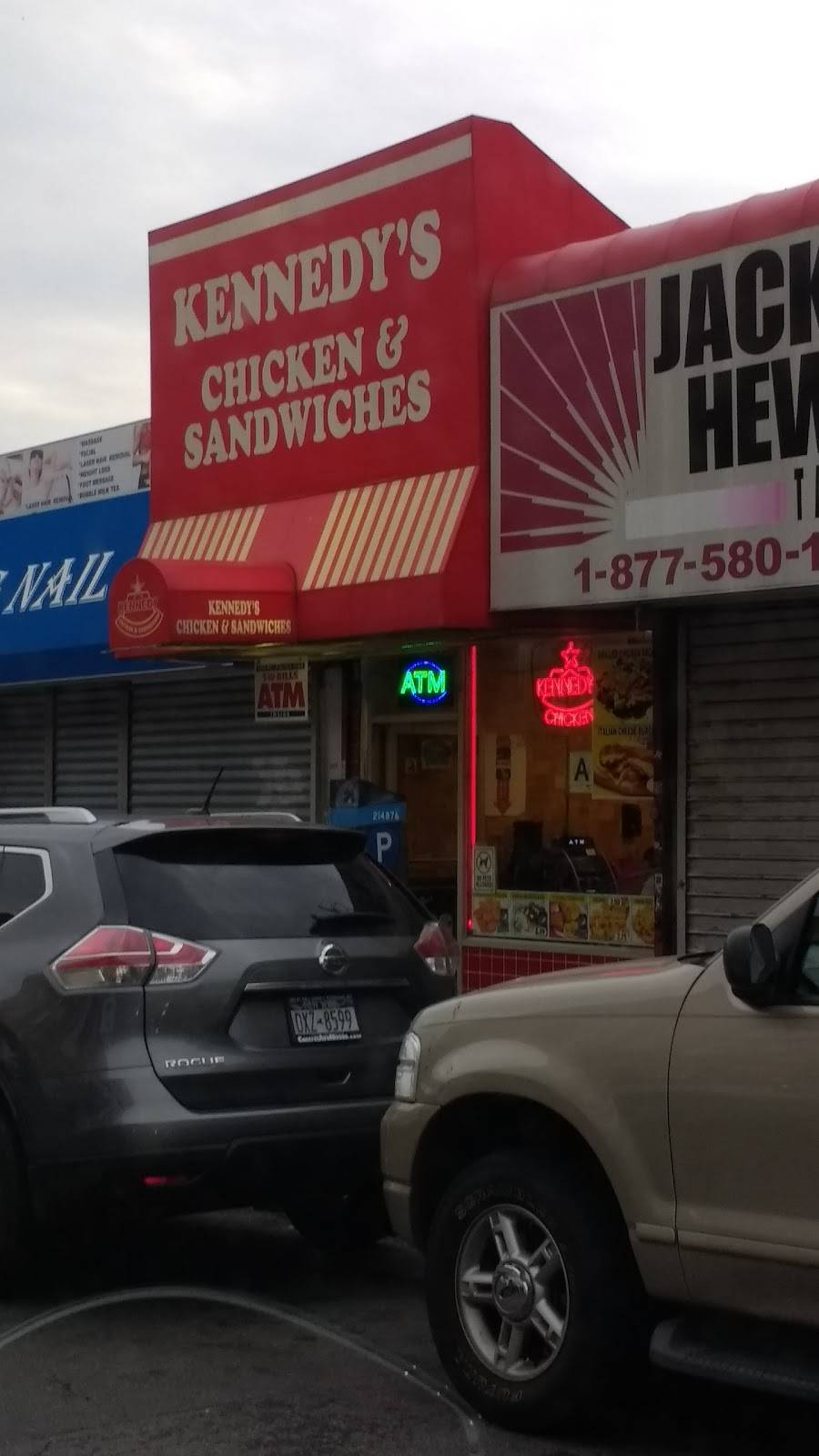 Kennedy Chicken & Sandwichs   restaurant   707 Lydig Ave, Bronx, NY 10462, USA   7188231341 OR +1 718-823-1341