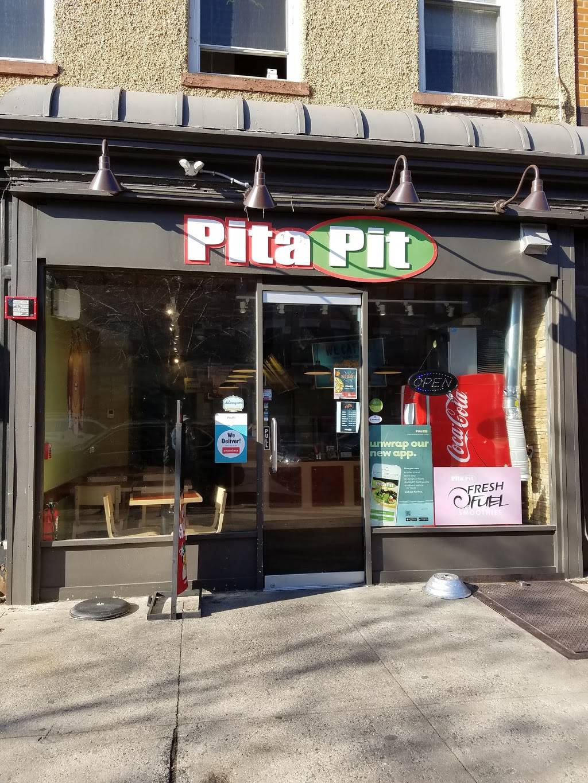 Pita Pit | restaurant | 732 Washington St #1, Hoboken, NJ 07030, USA | 2016838500 OR +1 201-683-8500