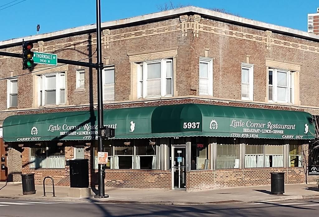 Little Corner Restaurant | restaurant | 5937 N Broadway, Chicago, IL 60660, USA | 7738781834 OR +1 773-878-1834