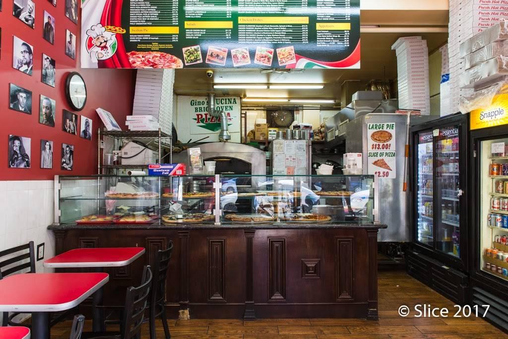 Ginos Cucina Brick Oven Pizza | meal delivery | 723 Washington Ave, Brooklyn, NY 11238, USA | 7188577100 OR +1 718-857-7100