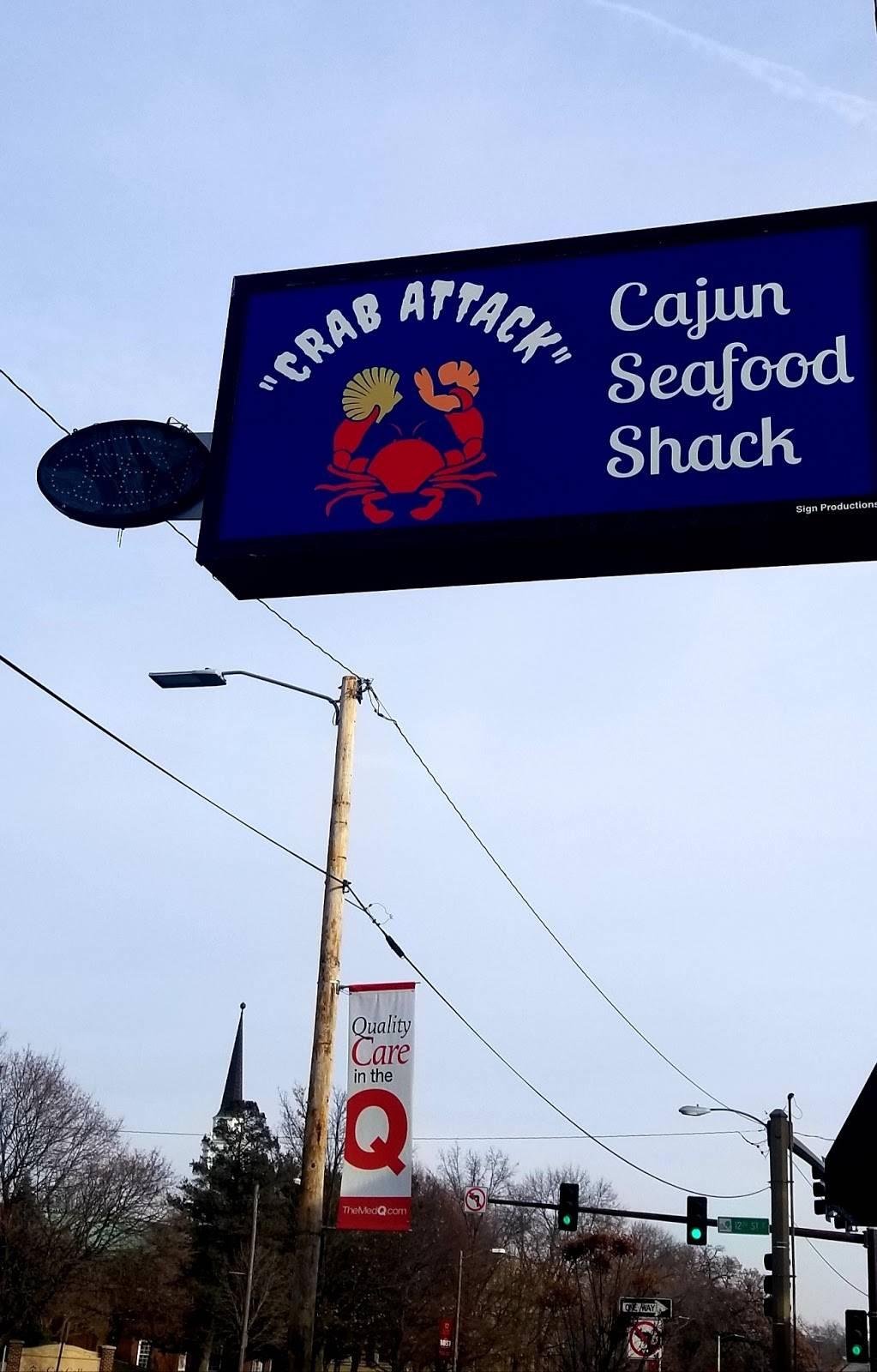 Crab Attack Cajun Seafood Shack   restaurant   1117 1st Ave SE, Cedar Rapids, IA 52402, USA   3193631175 OR +1 319-363-1175