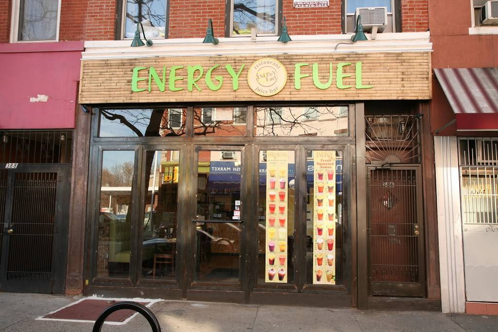 Energy Fuel | restaurant | 386 Myrtle Ave, Brooklyn, NY 11205, USA | 3478896990 OR +1 347-889-6990