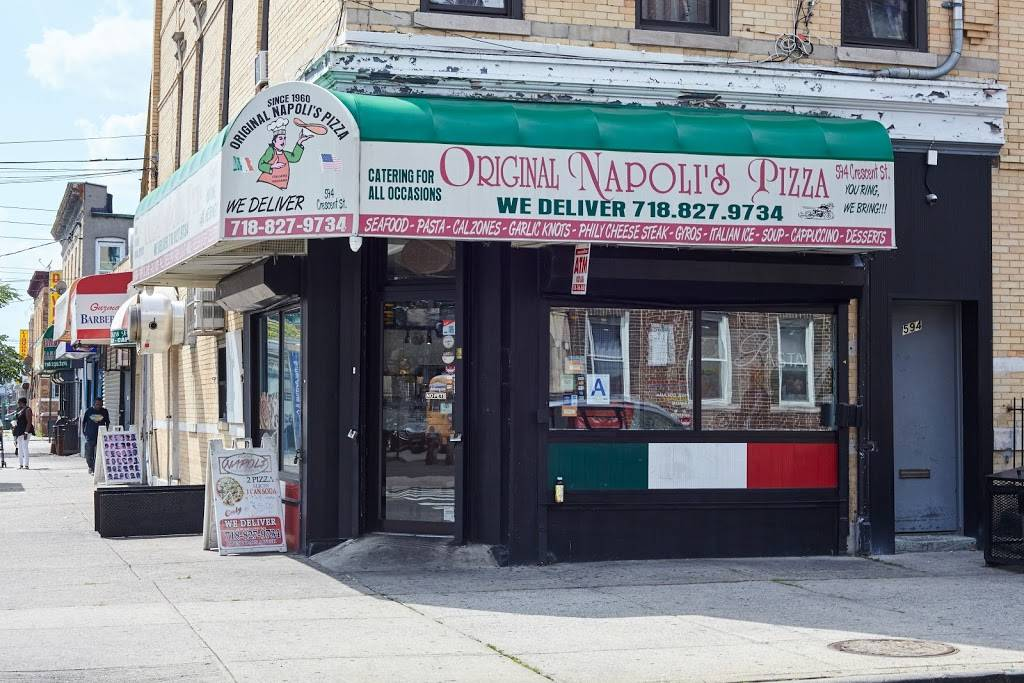Original Napolis Pizza | meal delivery | 594 Crescent St, Brooklyn, NY 11208, USA | 7188279734 OR +1 718-827-9734