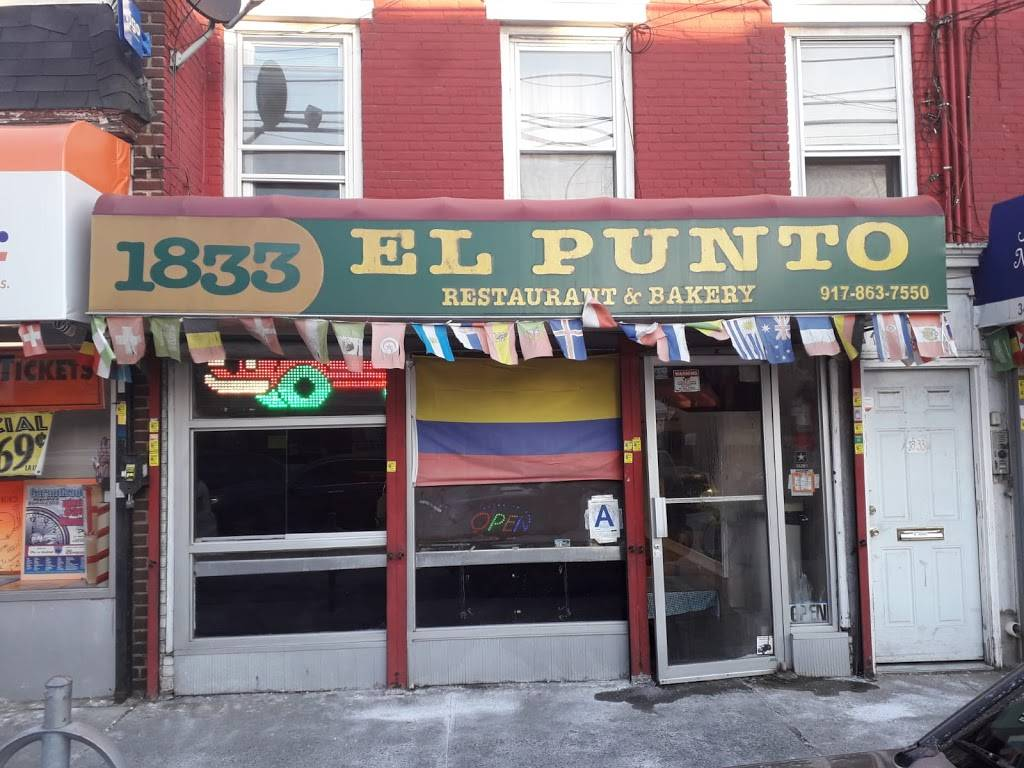 El Punto Restaurant And Bakery | restaurant | 1833 College Point Blvd, College Point, NY 11356, USA