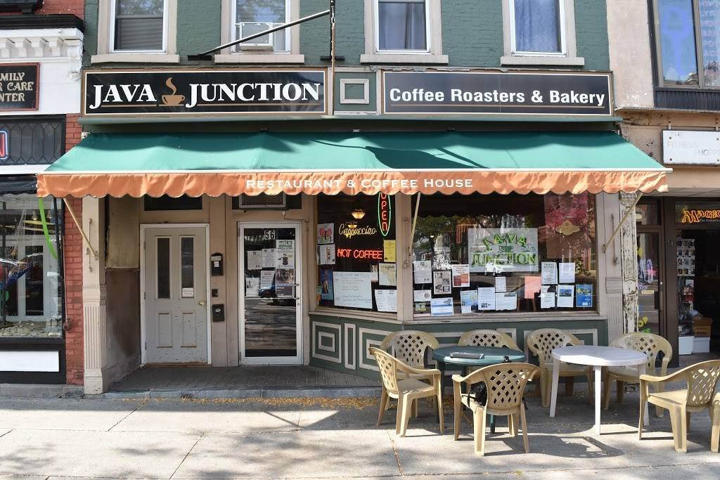Java Junction Coffee Roasters & Bakery   bakery   56 Main St S, Brockport, NY 14420, USA   5856379330 OR +1 585-637-9330