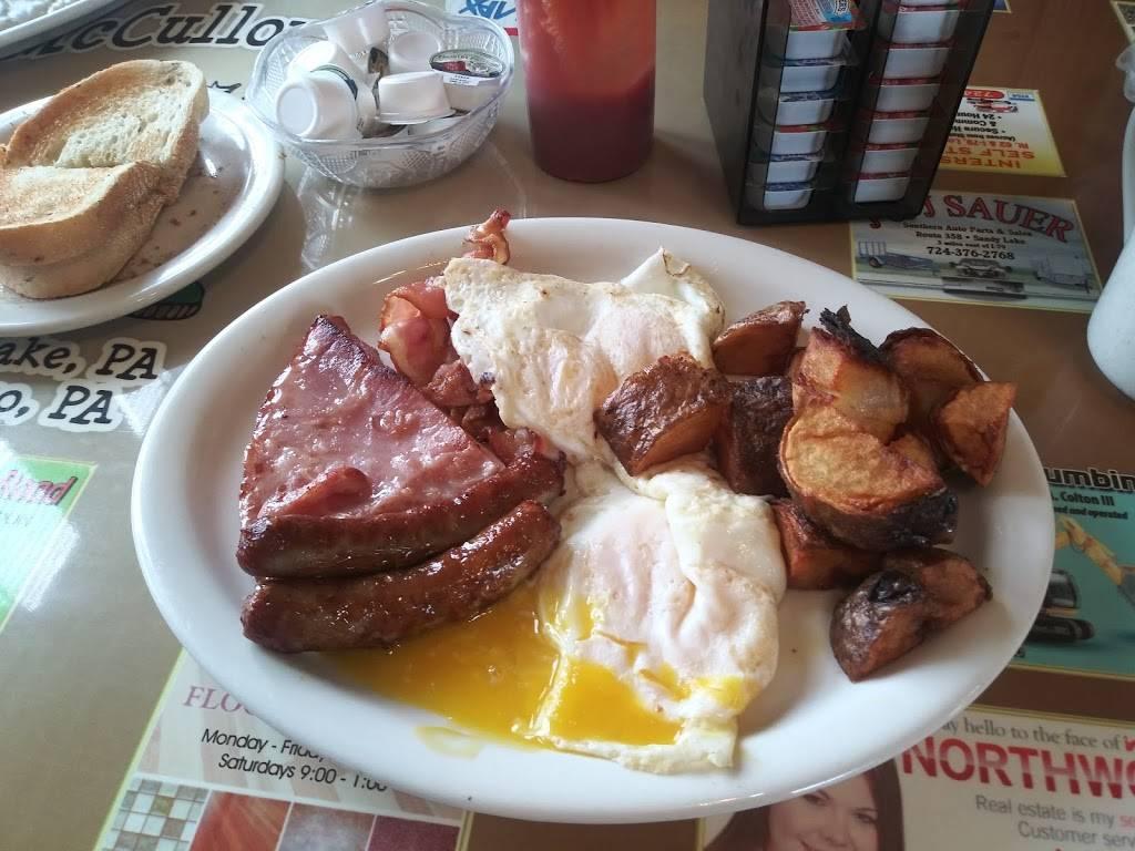 Mccullough S Kitchen Table Restaurant 4824 Sandy Lake Greenville Rd Sandy Lake Pa 16145 Usa