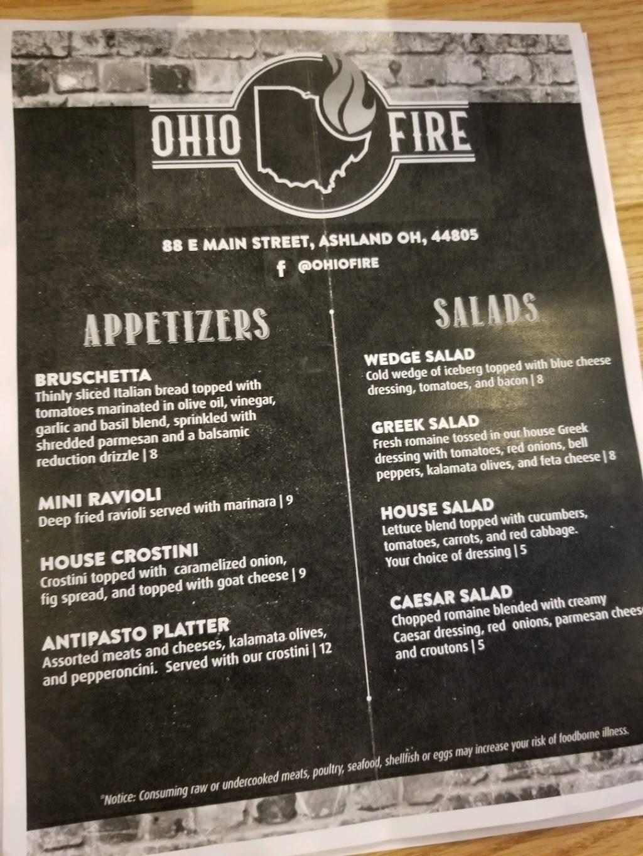 Ohio Fire Pizza | restaurant | 102 E Main St, Ashland, OH 44805, USA