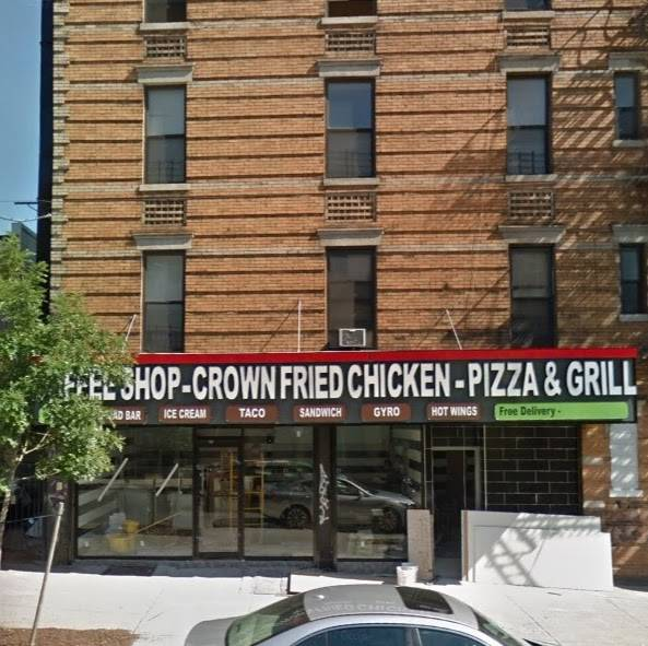 Crown Fried Chicken And Pizza Shop | restaurant | 407 Saratoga Ave, Brooklyn, NY 11233, USA | 7185766116 OR +1 718-576-6116