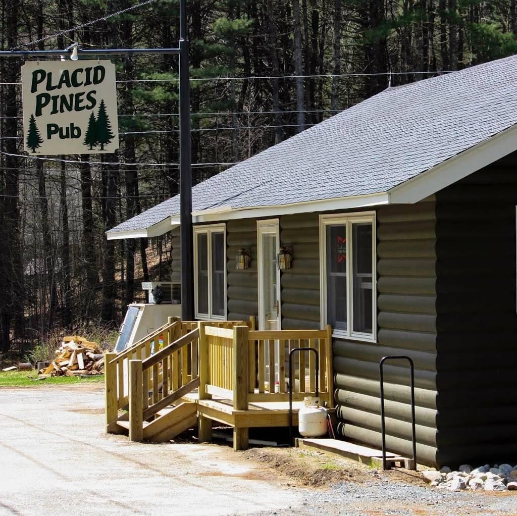 Placid Pines Pub | restaurant | 773 N Shore Rd, Hadley, NY 12835, USA | 5188636989 OR +1 518-863-6989