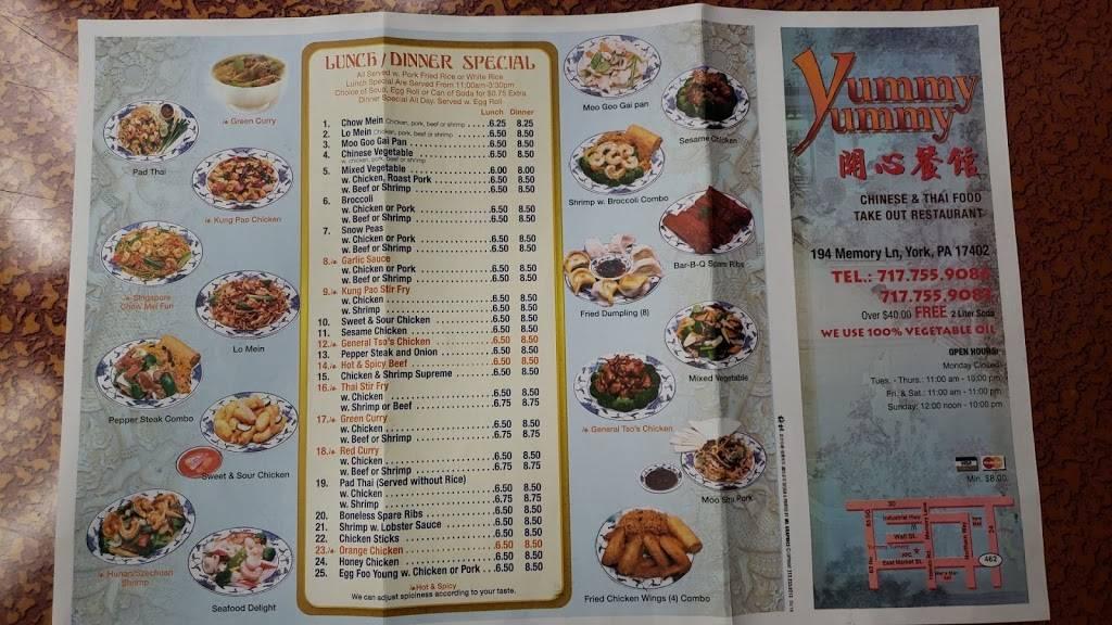 asian yummy york pa