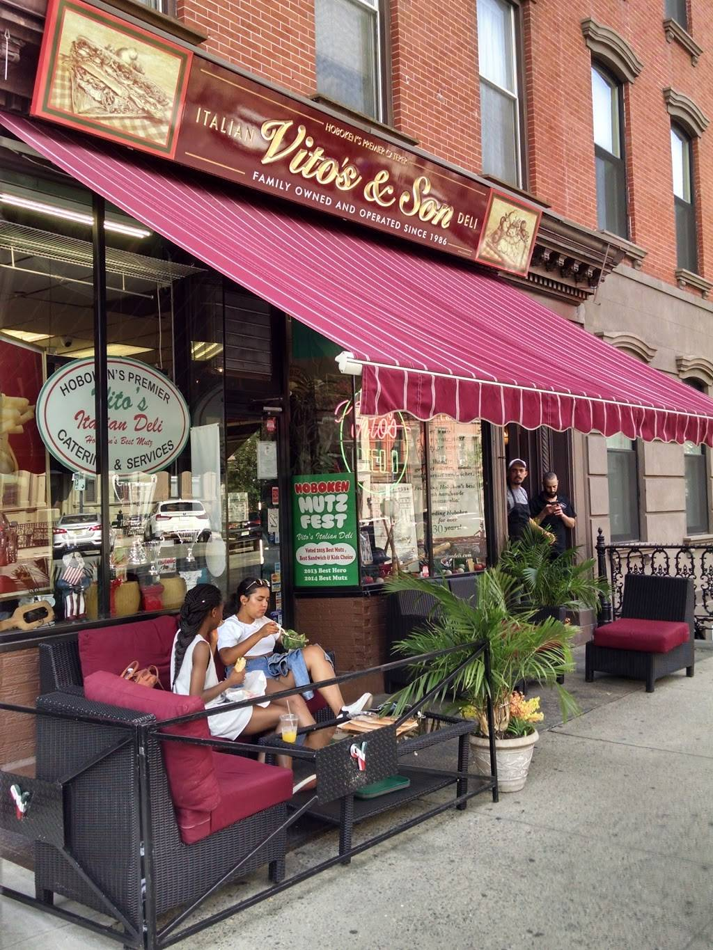 Vitos Deli | meal takeaway | 806 Washington St A, Hoboken, NJ 07030, USA | 2017924944 OR +1 201-792-4944