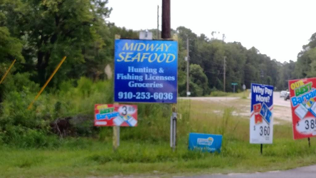 Midway Seafood LLC | restaurant | 1446 Midway Rd SE, Bolivia, NC 28422, USA | 9102536036 OR +1 910-253-6036