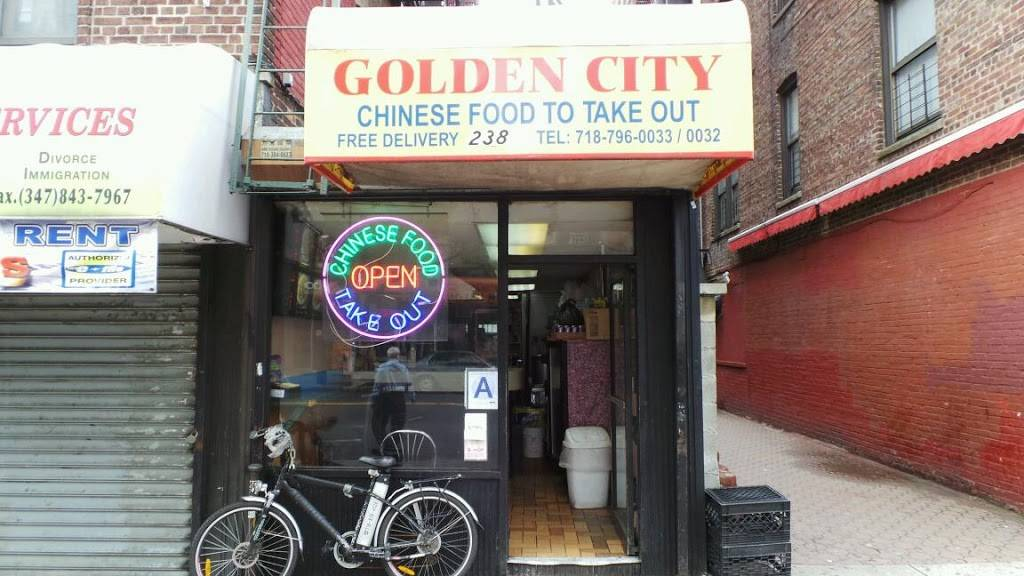 Golden City | meal takeaway | 238 W 231st St, Bronx, NY 10463, USA | 7187960033 OR +1 718-796-0033
