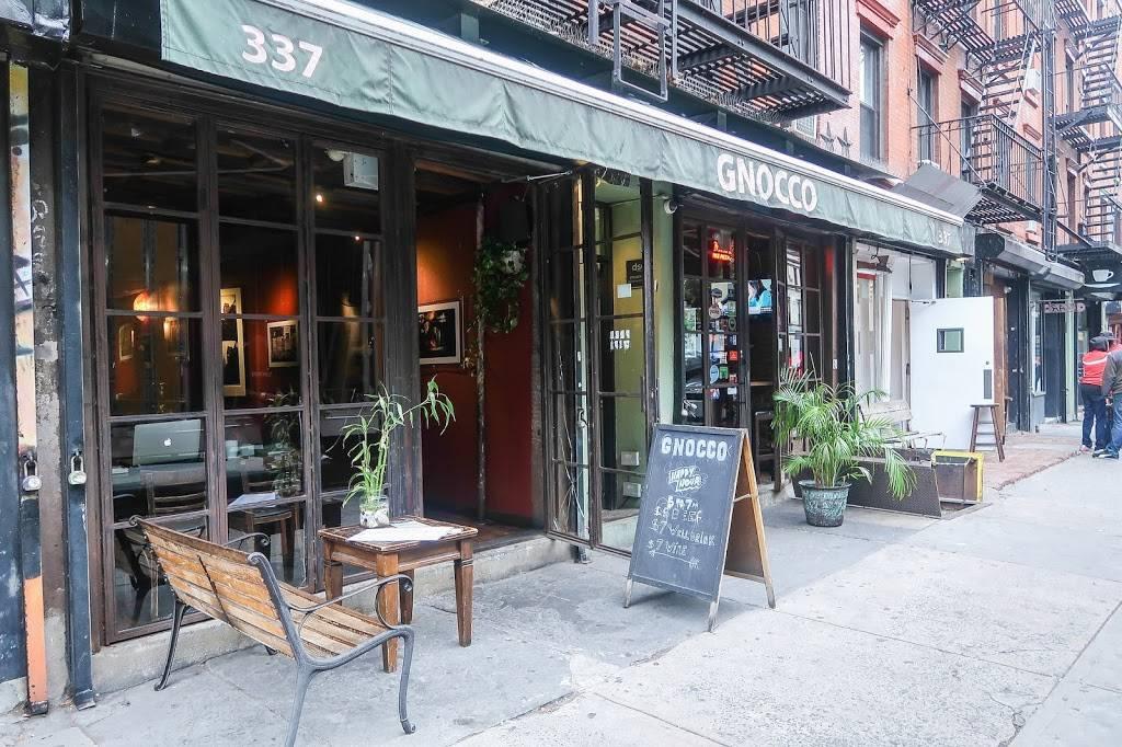 Gnocco | restaurant | 337 E 10th St, New York, NY 10009, USA | 2126771913 OR +1 212-677-1913