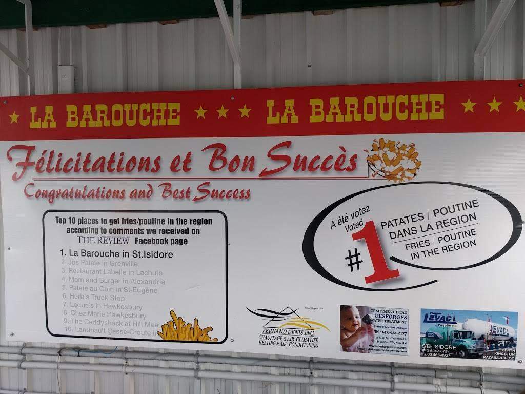 La Barouche | restaurant | 4755 Ste-Catherine St, Saint Isidore, ON K0C 2B0, Canada | 6135242952 OR +1 613-524-2952