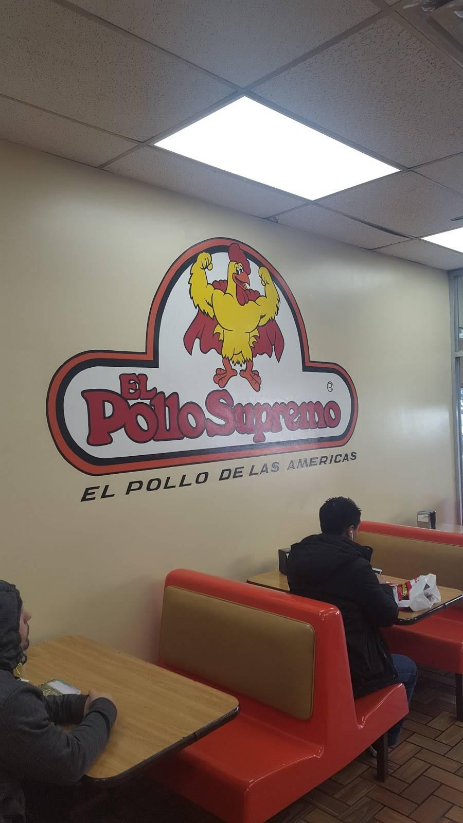 El Pollo Supremo | restaurant | 6114 Bergenline Ave, West New York, NJ 07093, USA | 2018689284 OR +1 201-868-9284