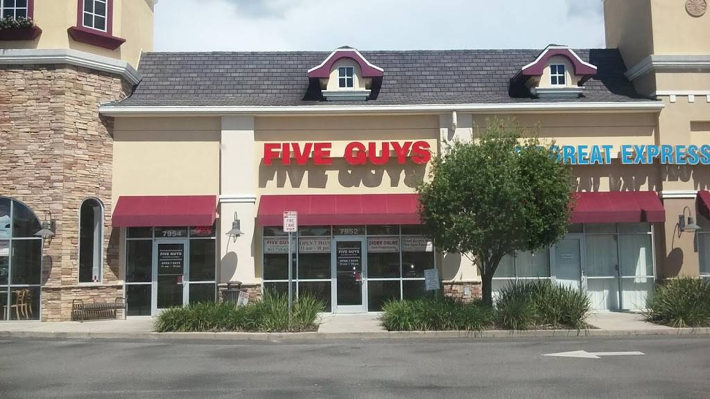 Five Guys | meal takeaway | 7654 Gall Blvd, Zephyrhills, FL 33541, USA | 8137156200 OR +1 813-715-6200