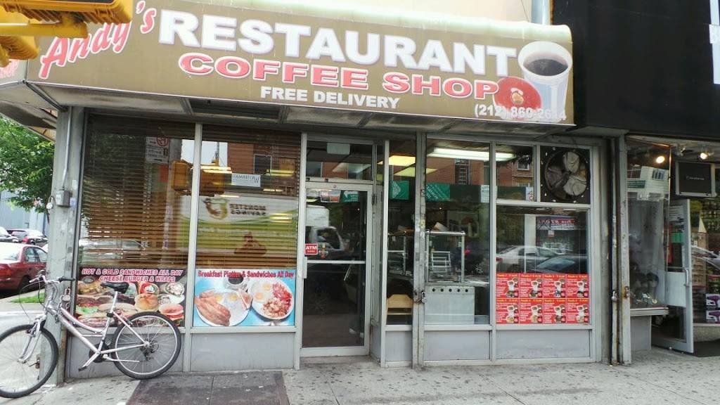 Andys | cafe | 2262 3rd Ave, New York, NY 10035, USA | 2128602614 OR +1 212-860-2614