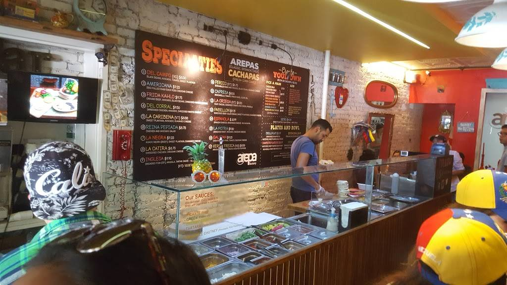 Arepa Factory | restaurant | 147 Avenue A, New York, NY 10009, USA | 6464906828 OR +1 646-490-6828