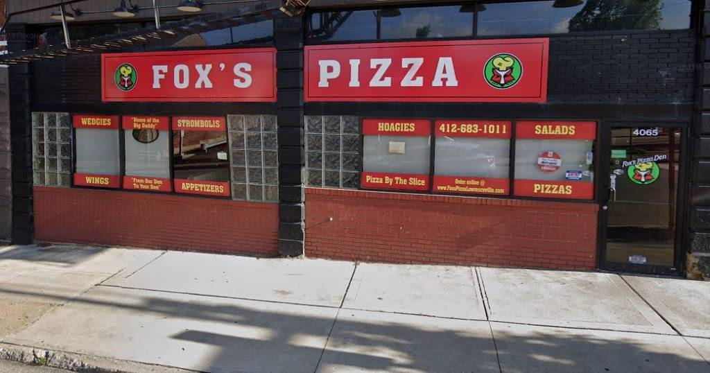 Foxs Pizza Den | meal delivery | 4065 Penn Ave, Pittsburgh, PA 15224, USA | 4126831011 OR +1 412-683-1011