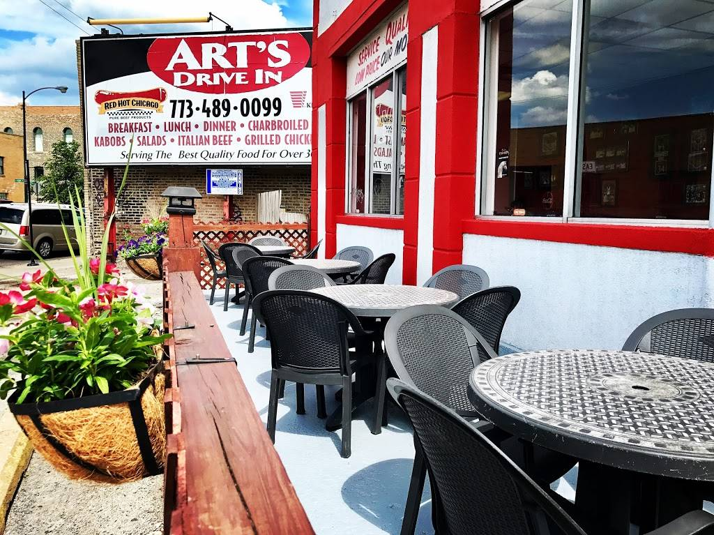 Arts Drive In | restaurant | 1333 W North Ave, Chicago, IL 60642, USA | 7734890099 OR +1 773-489-0099